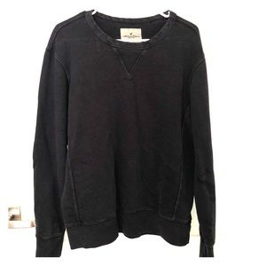Distressed Crewneck Sweatshirt